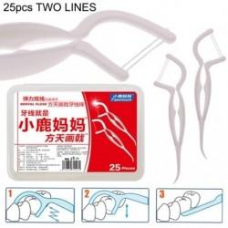 FAWN MUM 25db  Új eldobható fogászatifogtisztító fogselyem fogpiszkáló