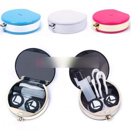 Mini utazó parfüm forma kontaktlencse tartó  1db