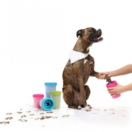 afd455990792 Állat kisállat kutya lábtisztító kefe S méret