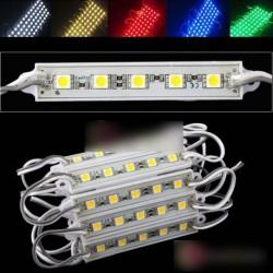 20db 5 SMD 5050 LED modul fény lámpa 12V 5 Szín