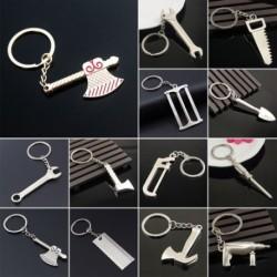 1 db Kreatív eszköz Stílus csavarkulcs kulcs Kulcs lánc Autó táska kulcstartó Fém kulcstartó Ajándék