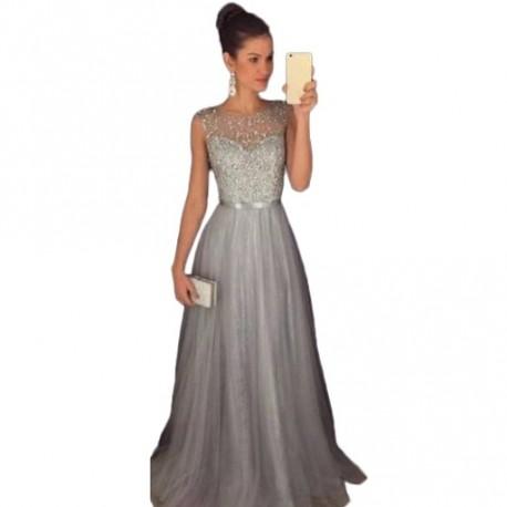 f160580405 1 db Csipke formás ruha Hátsó nélküli sifon ruhák Hosszú ujjú ruha esküvői  ruha