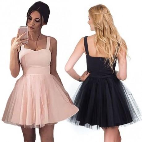 fb523d5a2a 1 db Szexi ruhák a nőknek Nyári ujjatlan tüll ruhák Estélyi ruha csinos  aranyos nyári ruha