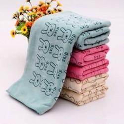 Aranyos Nyúl Baba Fürdő Törölköző Mosogató Fürdőzés Soft Home Infant mosogatószer Nice