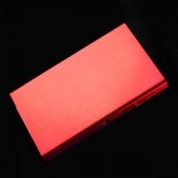 piros - ÚJ Lady 20 Sticks arany Fashion Creative Slim fém cigaretta tok cigaretta doboz