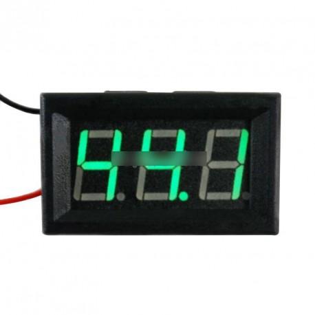 """0.56""""LED-es autós feszültségmérő voltmérő DC 5-120"""