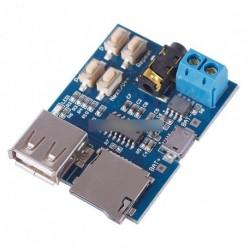 Új MP3 lejátszó  Dekoder modul  Micro USB port