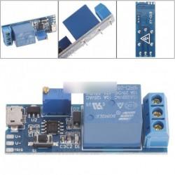 5V -30V késleltető relé Timer modul Trigger Micro