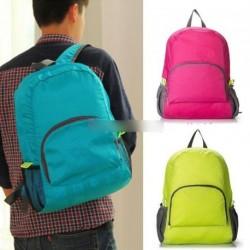 Összehajtható hátizsák Nylon iskola táska 1db