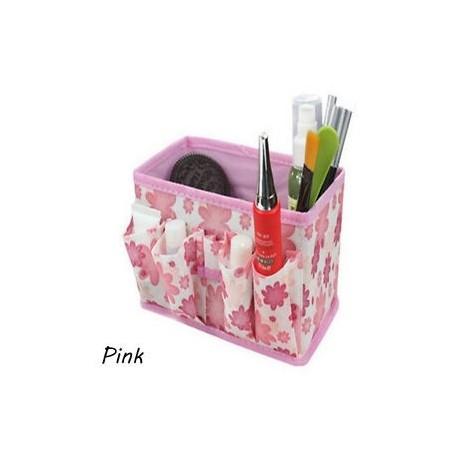 f2783b307d5c Rózsaszín - 5 színes Home Foldable Make Up Szervező Kozmetikai smink tároló  doboz asztali toll