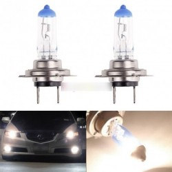H7 100W LED Halogén autós Fényszóró izzó 12V