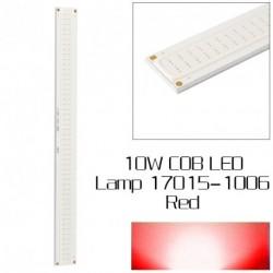 1db 10W COB LED piros szalag Fény lámpa gyöngy 9V