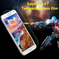 Edzett üveg képernyővédő fólia Samsung E7