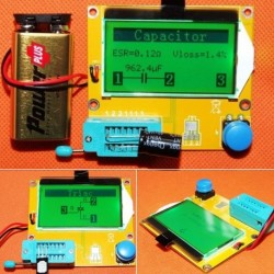 LCR-T4 tranzisztor teszter ESR Meter MOS / PNP