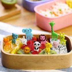 10db Bento Kawaii állatfugurás étel jelölő 2No.