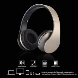 1db 4 az 1-ben sztereó Bluetooth fejhallgató