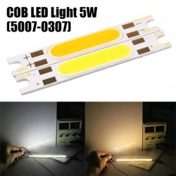 1db 5W 9V-10V COB LED fehér fény szalag gyöngy